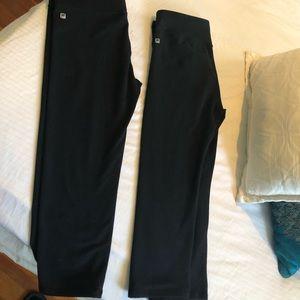 Fabletic Black Crop leggings